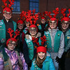 Lowell City of Lights Parade 2019. Members of Girl Scout Troop 62695 of Lowell dressed as reindeers. (SUN/Julia Malakie)