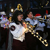 Lowell City of Lights Parade 2019. Melody Iannotti on trombone with the Lowell High Marching Band. (SUN/Julia Malakie)