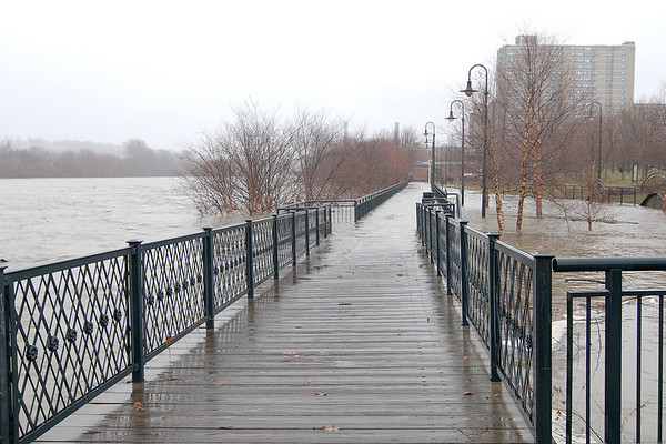 River Walk along the Merrimack River, Lowell, MA 4/18/07