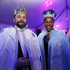 Lowell Winterfest opening night. Shaun McCarthy and his girlfriend Christa Brown, both of Lowell, are the Winterfest King and Queen. (SUN Julia Malakie)