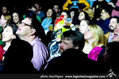 Lucha VaVOOM's - Lucha is for Lovers - at The Mayan Theater - Los Angeles, CA - February 15, 2012