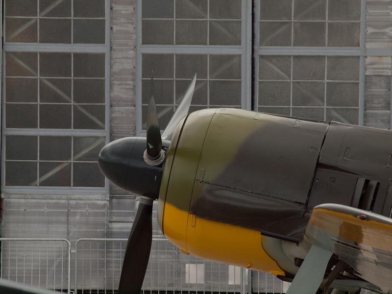Focke-Wulf Fw-190 A-5 on Luftwaffe Fly Day, August 17, 2013.