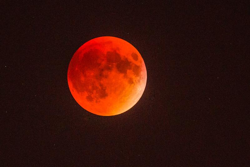 Blood Moon, Total Lunar Eclipse