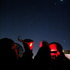 Red Flashlight on Telescope