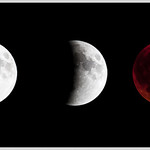 Super Moon Eclipse Sequence