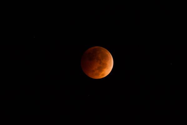 Lunar Eclipse on 10/8/14