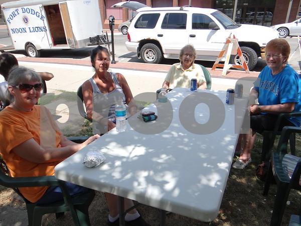 Flora Stump, Teri Gregory, Bea Matter, and Kay Neavin.