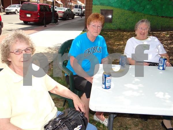 Bea Matter, Kay Neavin, and Barb Tjebben.