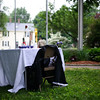 5/29/16 LUNENBURG-- An empty table sits in front of guests in remembrance of lost veterans during Sundays Memorial Day ceremony at the Eagle House Senior Center in Lunenburg.  Sentinel & Enterprise photo/Jeff Porter