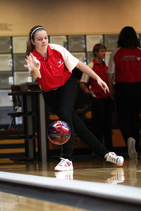 Lutheran West Bowling Team in action - 2013