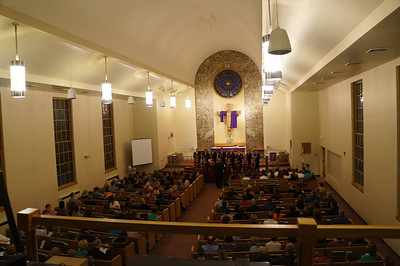2013 Lutheran West High School Spring Choir Concert performed at Messiah Lutheran Church