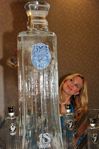 """Luxury Marketing Council"" and Greg Furman are in Las Vegas to open a branch of their famous luxury branding think-tank with a kick-off salon party in these photos on the 16th floor of the World Market Center in Las Vegas with iS Vodka generously supplying their award winning vodka administered by iS Angel Robin and her iS sculpture luge for tasting the 7 times distilled Icelandic vodka in its purest form. About LMC - Since 1994, The Luxury Marketing Council has set out to be the gold standard for the intelligent exploration of the best marketing practices and trends in the luxury world.  The Luxury Marketing Council is a by-invitation only organization of over 2000 members-all CEOs and CMOs in sixteen cities worldwide, representing 700 luxury brands."