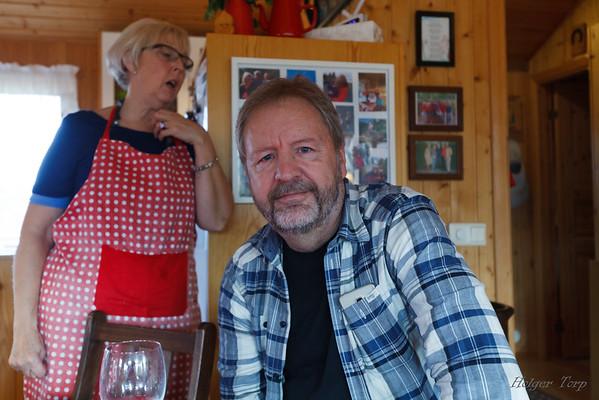 Hlíf Þórarinsdóttir og Gunnar H Egilson