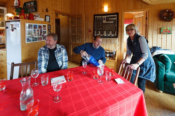 Gunnar H Egilson, Ólafur W Finnsson og Jósefína Ólafsdóttir