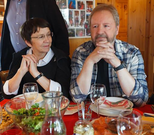 Dagný Helgadóttir og Gunnar H Egilson