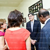 Photo by Tony Powell. M Luis Visit by Secretary Lew. June 17, 2013