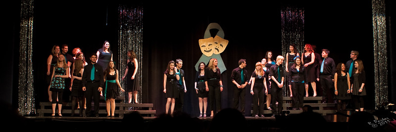 Roy C Ketcham high school Masque and Mime Society 45th anniversary ,  A Tribute  to Melissa Gleichenhaus...