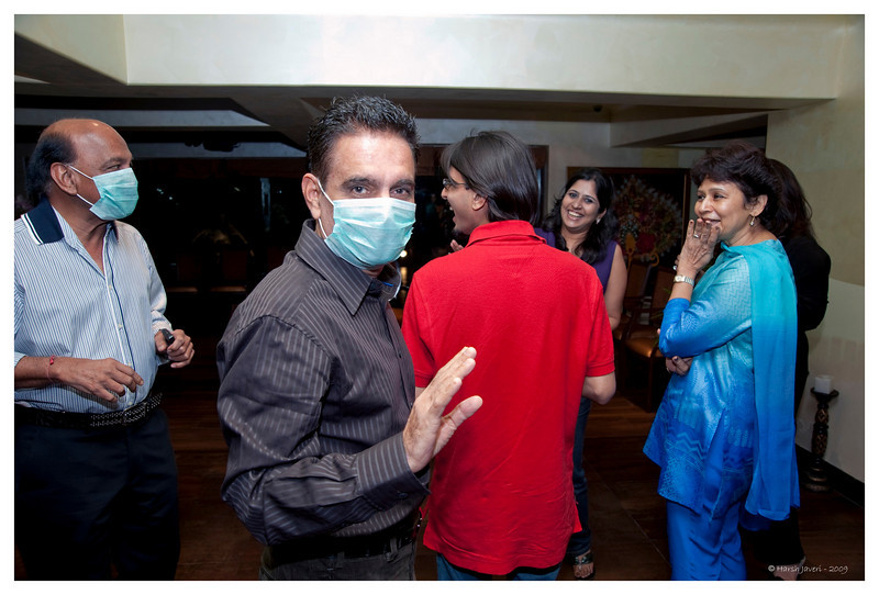 Arrival of the Swine (flu) gang!