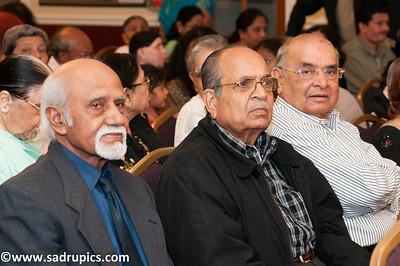 L-R Dr. M.Q. Khan, Raman Bharoon