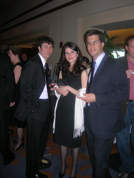 Board Members Roberta Sousa, Jose Gurgel and friends