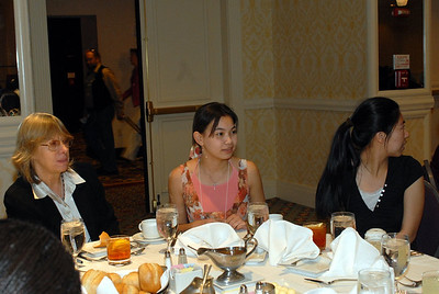 EB2007:  ASPET member, Dr. Margarita Dubocovich and two students during the MARC Student Day Program & Luncheon.