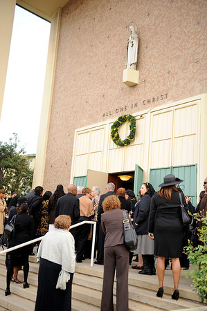 LOS ANGELES CELEBRATES THE LEGACY OF MARGUERITE POINTDEXTER LAMOTTE ON SATURDAY MORNING DECEMBER 231, 2013 AT ST. GRIDIGID CATHOLIC CHURCH.  (Photo by Valerie Goodloe/