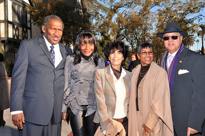 MAYOR VILLARAIGOSA CELEBRATES THE NAACP CENTENNIAL & IMAGE AWRDS 40TH ANNIVERSARY IT HIS HOME IN LOS ANGELES ON  FEBRUARY 12, 2009. COVERUP PRODUCTIONS