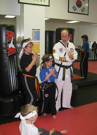 MC Taekwondo Birthday 1-17-11