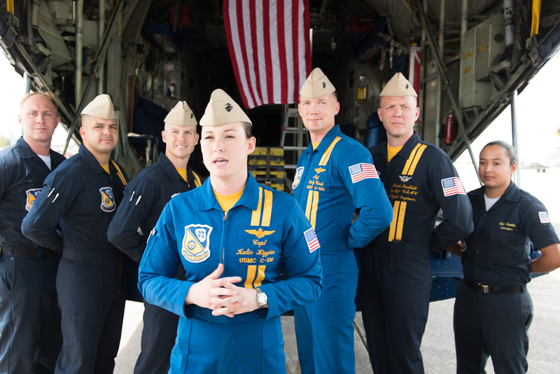 Capt. Katie Higgins, first Blue Angels female pilot