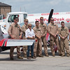 Patty Wagstaff Aerobatics Support Team at MCAS Beaufort