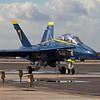 Blue Angel F-18 Hornet