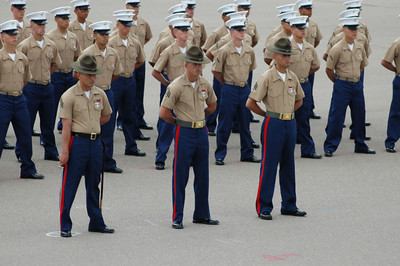 MCRD Graduation and the Bay area