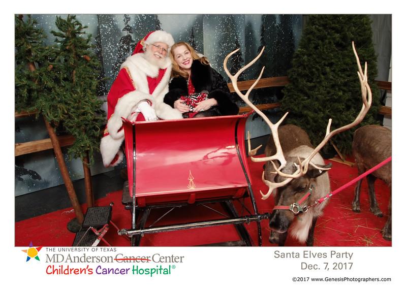 MD Andersonn Santas Elves Party 2017