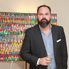 NYC Pop Artist M.Dreeland's works on view on the terrace of Townhouse E at the prestigious Beekman Regent Condominium<br /> New York City, USA - 04.23.14<br /> Credit: J Grassi