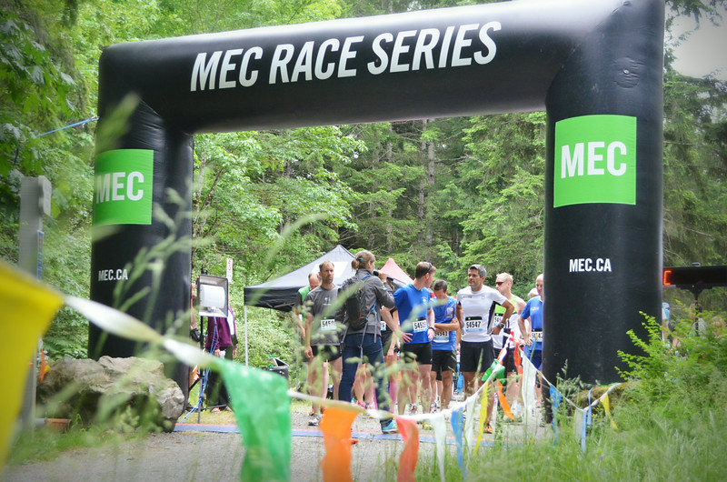 MEC Race 3 Sooke Potholes, BC 5K, 10K and 1/2 Marathon.