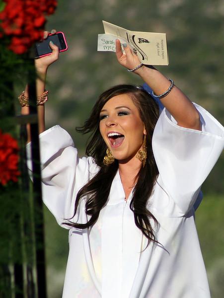 MEHS Graduation - Sarah Rose