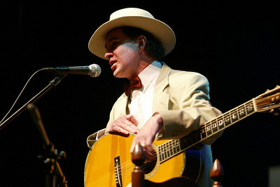 Jimmy Rogers impersonator performs at the Riley Center celebrating American Roots Music