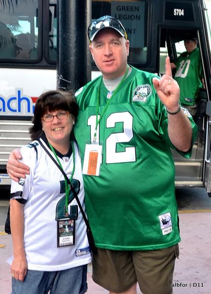 Dec 11, 2011 Miami pre-game tailgate party!