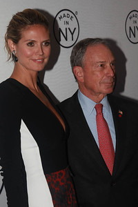 Heidi Klum & Mayor Michael Bloomberg