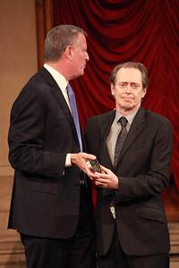 Mayor Bill DeBlasio & Steve Buscemi