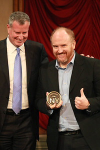 Mayor Bill DeBlasio & Louis C.K.
