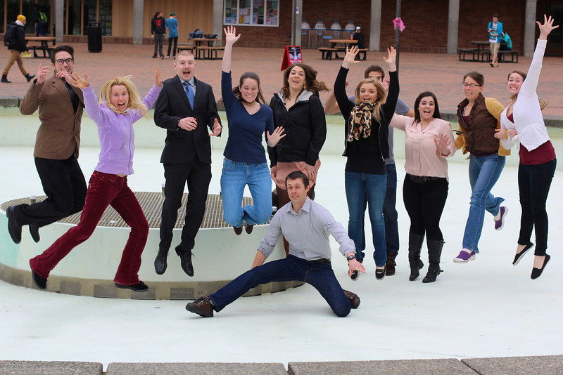 Jumping for teaching joy!