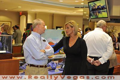 Christensen Diamond holds an Art & Diamond appreciation opening in Las Vegas.