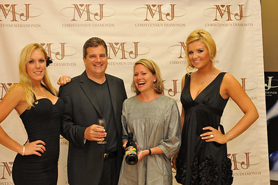 "Photograph at MJ Christensen Party inside their lavish and stylish store at 10400 S. Eastern Ave in Henderson, Las Vegas with DSM Luxury featuring sponsors Hearts of Fire, Tacori, Tycoon Cut, H. Stern and Philip Stein Watches. Diamond angels Georgina, Katie and Adrienne were on hand to spread the love. Winner David C. won himself a $1,300 necklace. Special thanks to the wines of Betts & Scholl, a wine you want to drink everyday! ""Your Passport To Luxury"" Photograph by Las Vegas photographer Mark Bowers."