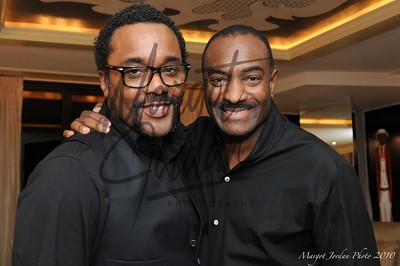 Black Is The New Green book launch reception at The Washington, D.C. home of Reginald Van Lee  Lee Daniels and Reginald Van Lee