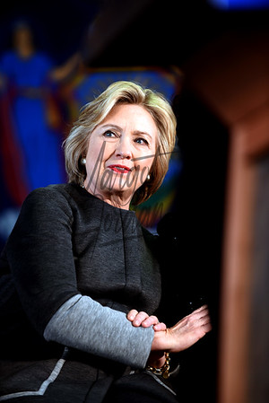 Secretary Hillary Clinton at Medgar Evers College by Margot Jordan ©2016