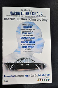 MLK Day At VA  Jan 20,  2018