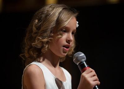 National Anthem Miss Susanna Hoffman, Atholton Elementary School, Columbia MD