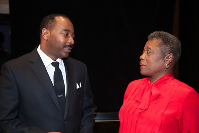 Gregg Riley as Dr. Martin Luther King Jr. Brenda Shelton