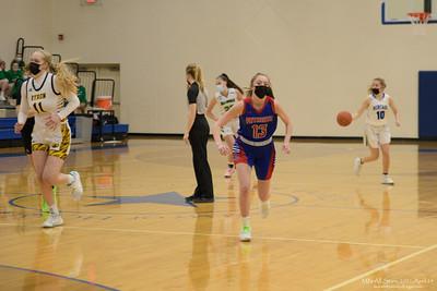 Minnesota Girls Basketball All-Star Series 2021. Games on 2021 April 24 at The Academy of Holy Angels, Richfield, Minnesota USA.